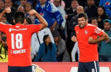 Independiente consiguió el empate por un contraataque de Gigliotti, en el peor momento del equipo de Holan.