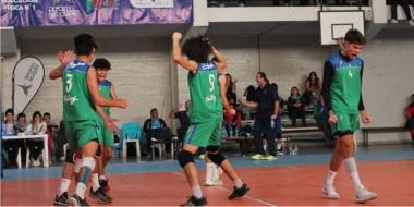 En la final del vóley masculino, Chubut cayó con Río Negro por 3 a 0 y se colgó la medalla plateada.