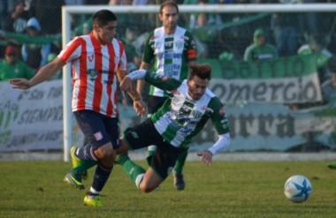 Germinal y Racing Club iban a jugar hoy en El Fortín a las 15. Media hora antes, jugaban La Ribera-J.J. Moreno.