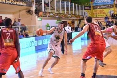 Gimnasia le ganó el primer juego de cuartos de final a San Martín, en Corrientes.