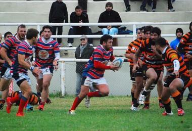 Puerto Madryn RC le ganó en Rawson a Bigornia yahora ambos lideran.