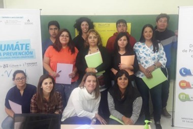 El encuentro se realizó en Los Altares, y  participaron referentes locales, de Las Plumas y Gualjaina.