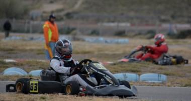 """Ayer hubo actividad en el kartódromo """"Juan Albertella"""" del Mar y Valle de Trelew con los entrenamientos."""