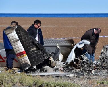 La tragedia aérea que conmocionó a la provincia es investigada.