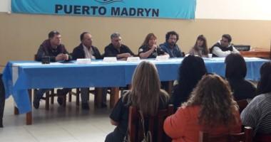 El Congreso Provincial de Sindicatos Municipales se llevó adelante en la ciudad de Puerto Madryn.