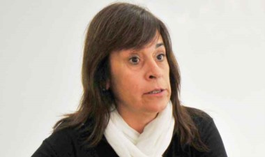 La diputada del FPV, Alejandra Marcilla, una de las denunciantes.