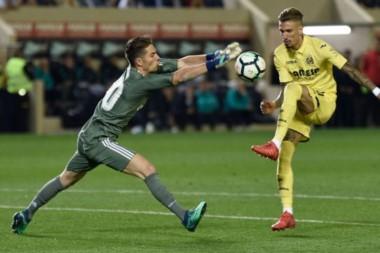 Luca Zidane ha debutado con la.camiseta del Real Madrid en primera contra Villarreal.