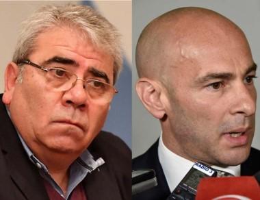 Dúo. Paz (izquierda) y Massoni, ascendidos en el Gobierno provincial.