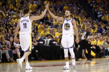 Golden State ganaron a Houston por 41 puntos, es la cuarta victoria más amplia en finales de conferencia; Stephen Curry consiguió 35 puntos.
