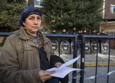 María Huala (madre de Facundo y Fausto Jones Huala) presentó un escrito de la APDH ante el juzgado federal que rechaza el fallo de Casación.