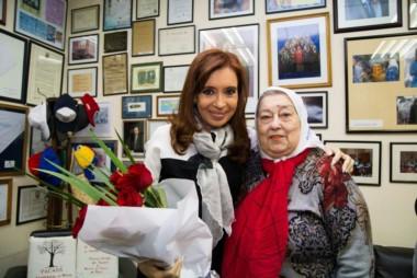 La presidenta de Madres de Plaza de Mayo, Hebe de Bonafini, manifestó su deseo de que la ex presidenta Cristina Kirchner participe de la marcha.