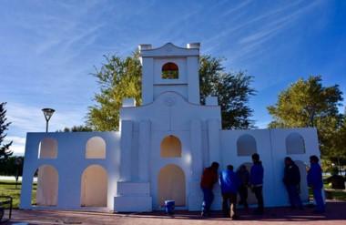 Este miércoles se procederá a la iluminación del Cabildo ubicado en la laguna Cacique Chiquichano.