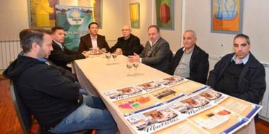 La mesa del acuerdo entre el Municipio y las mueblerías.