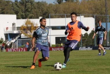 Argentina, con Messi de titular, se despide del país jugando un amistiso contra Haití.