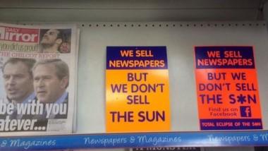 Desde 1989 nadie compra The Sun en Liverpool, y si lo hacen es a escondidas.