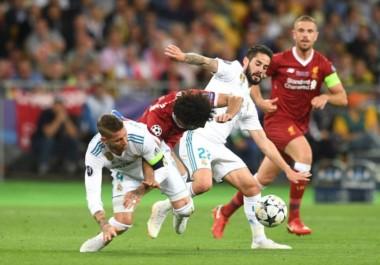 La polémica de la Champions: Salah salió lesionado, ¿mala intención de Sergio Ramos?
