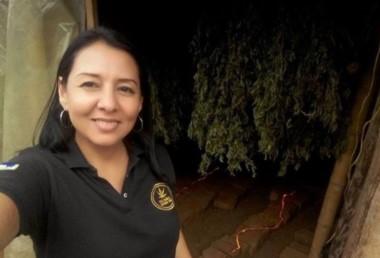 Mónica Berenice Blanco Sossa, de 47 años, guiaba a los turistas israelíes por una plantación de marihuana cuando fue secuestrada en una zona rural del municipio de Toribio.
