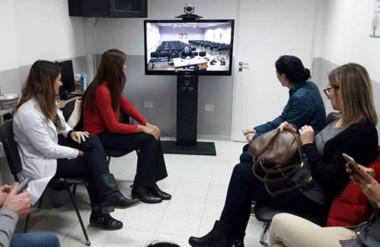 Se realizaron encuentros de trabajo en Trelew y Puerto Madryn con la referente del Hospital Garrahan.