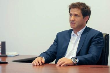 Paulino Caballero, uno de los funcionarios nacionales encargado de la asistencia financiera a Chubut.