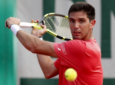 Delbonis sumó su quinta victoria en la primera ronda de un Grand Slam: una en Australia, dos en Roland Garros y una en el US Open.