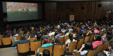 El Cine Teatro de Rawson estará disponible los días de los partidos de la Selección Argentina. Será gratis.