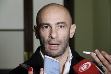 Federico Massoni, Ministro de Gobierno