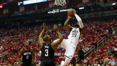 Utah Jazz derrotó a los Houston Rockets y empata la serie a un juego por bando.