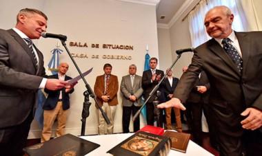 Adentro. Chicala reemplaza a Pagani y una de las primeras órdenes que recibió del gobernador es gestionar la reactivación de las obras.