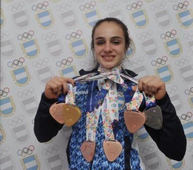 Martina Dominici consiguió una histórica medalla de oro imponiéndose sobre dos finalistas de Río 2016. Es la primera dorada en All Around individual, después de 20 años.