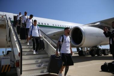El plantel argentino ya está en Barcelona.