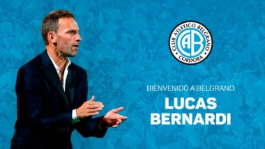 Belgrano de Córdoba le da la bienvenida a Lucas Bernardi como su nuevo entrenador.