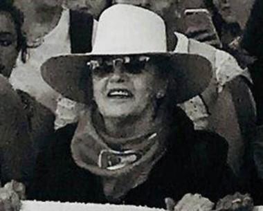Un reconocimiento a la militancia de Mirta Iglesias del Río.