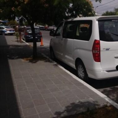 El vehículo Hyundai H1 que vincula a Correa con Parra