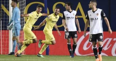 Villarreal se metió en la Liga Europa ante un Valencia de Champions.