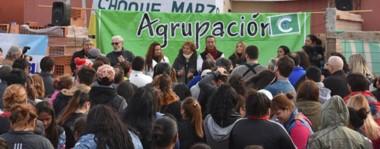 Decenas de vecinos se acercaron a la nueva Unidad Básica que inauguró el espacio de Adrián Maderna.
