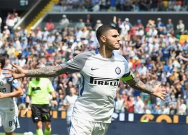 Inter se despachó con goleada en su visita a Udinese y el capitán Icardi dijo presente.