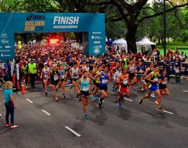 8000 personas corrieron la segunda edición de la ASICS Golden Run Buenos Aires en Palermo.