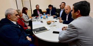 Cumbre. Los referentes del sistema tomaron decisiones para la reestructuración del Girsu.