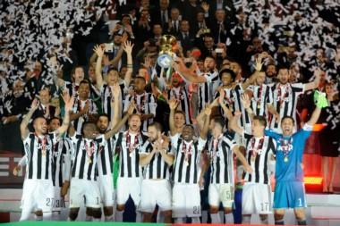 Juventus campeón, ganó su título Nº 13 de Copa Italia, conquistó las últimas cuatro ediciones del torneo.
