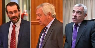 Sala Civil. Desde la izquierda, Panizzi, Donnet y Vivas firmaron una sentencia que sienta jurisprudencia.