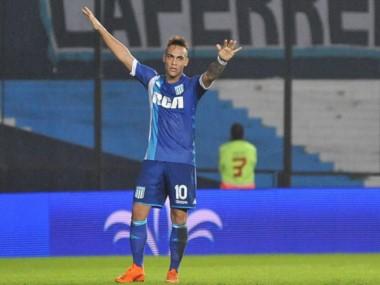 n Avellaneda, los goles de Lautaro Martínez y Lisandro López le dieron a Racing la victoria 2-0 ante Arsenal.