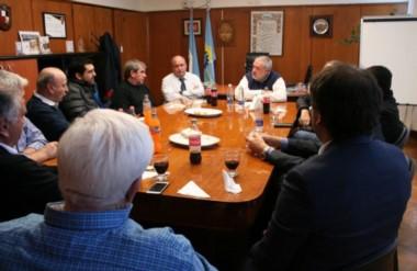 Encuentro. Los grupos comerciales y empresariales fueron informados sobre la ayuda bancaria disponible.