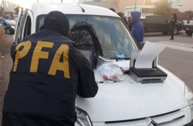 Procedimiento. La Policía Federal realizó varios controles que hallaron estupefacientes prohibidos.