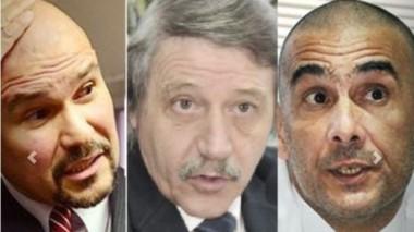 Barrios, Minatta y Defranco, los jueces de la polémica.