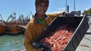 La pesca con la exportación de langostinos sigue siendo uno de los sectores pujantes dentro de una economía provincial en crisis.