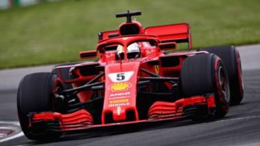 El alemán Vettel se impuso en Canadá y pasó a liderar el campeonato.
