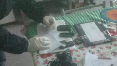 Policía Científica verificó los elementos de relevancia para la causa que fueron hallados en la vivienda.