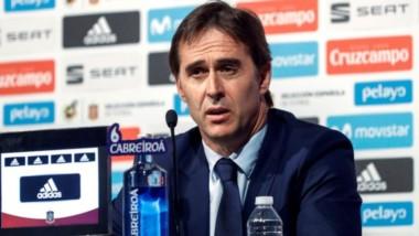 Julen Lopetegui fue despedido de su cargo habiendo dirigido 20 partidos en España y sin perder ninguno.