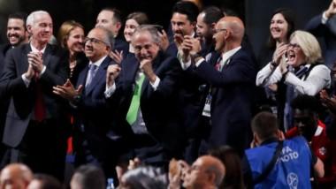 """""""United 2026"""" alcanzó 134 votos en el Congreso de FIFA, por 65 de Marruecos y uno en blanco."""