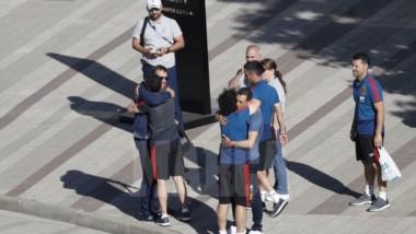 La imagen del día: el adiós de Julen Lopetegui a la selección española. (Foto: Marca).